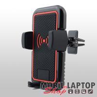 Autóstartó univerzális okostelefonokhoz vezeték nélküli töltéssel WX-041 szellőzőrácsba illeszthető