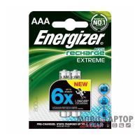 Elem Energizer Akkumulátor AAA HR03 1,2V 800mAh (2db/csomag)
